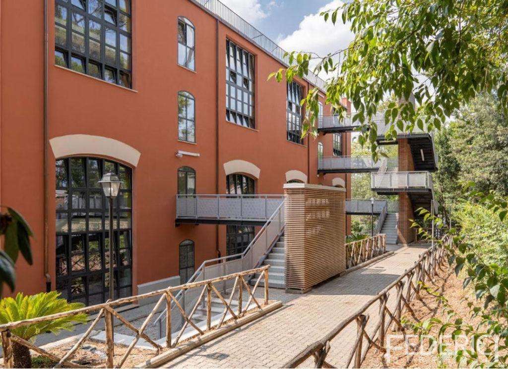 Liceo Chateaubriand, Roma. Infissi realizzati da Federici Sistemi